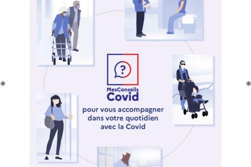 Mes conseils COVID