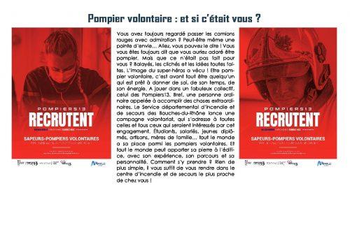 Pompier volontaire : et si c'était vous ?