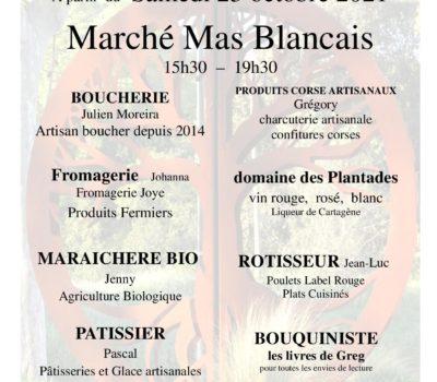 Le Marché Mas Blancais